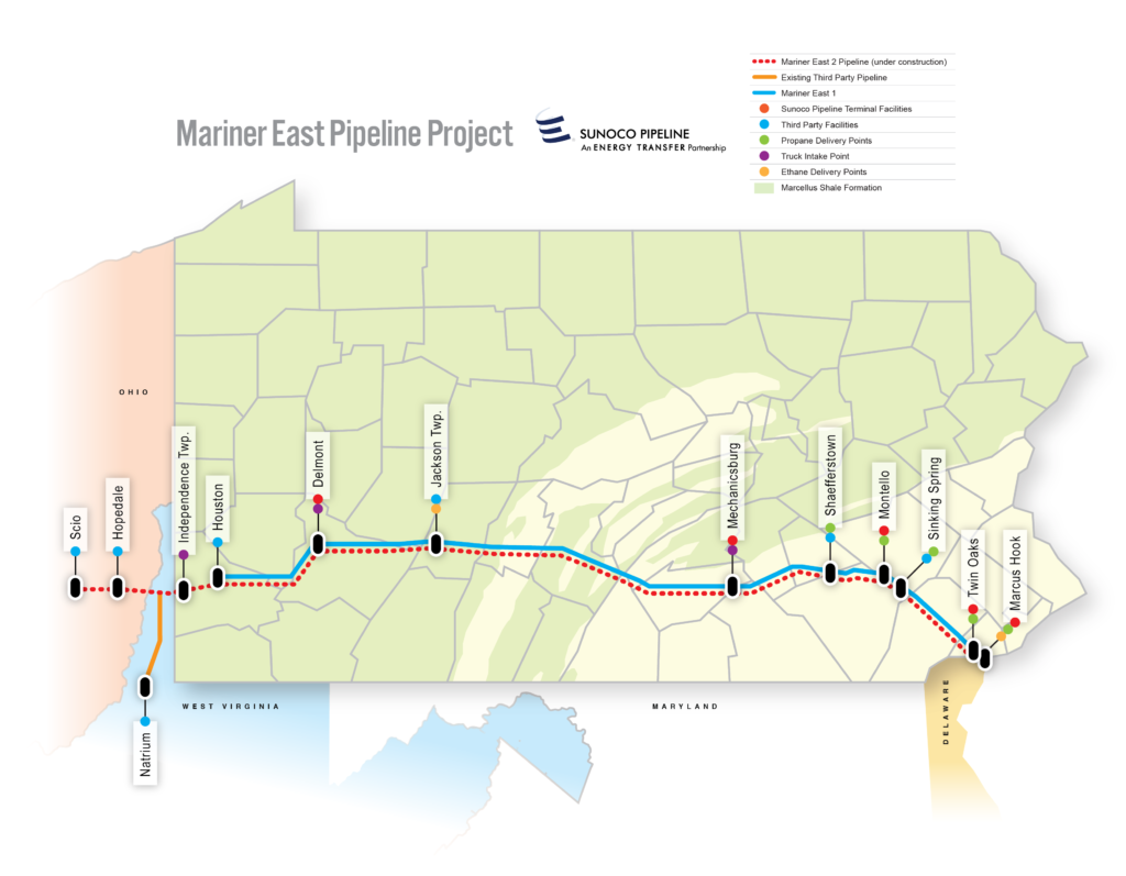 Pennsylvania Allows ETP Mariner East 1 Pipeline to Resume Service ...