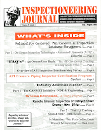 July/August 1995 Inspectioneering Journal