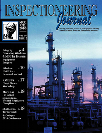 March/April 2010 Inspectioneering Journal