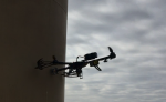 Development of a Wall Sticking Drone for Non-Destructive Ultrasonic and Corrosion Testing
