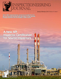 January/February 2013 Inspectioneering Journal