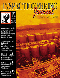 July/August 2010 Inspectioneering Journal
