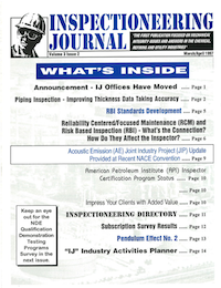 March/April 1997 Inspectioneering Journal