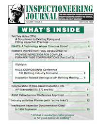 May/June 1998 Inspectioneering Journal