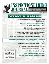March/April 1996 Inspectioneering Journal