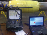 Microwave Inspection Technology Applied to Composite Pipeline Repair