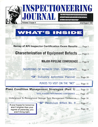 July/August 1997 Inspectioneering Journal