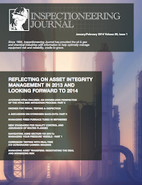 January/February 2014 Inspectioneering Journal