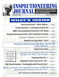 January/February 1997 Inspectioneering Journal