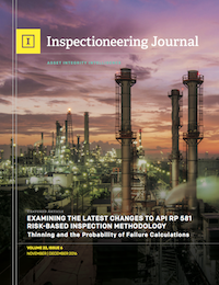November/December 2016 Inspectioneering Journal