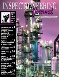 September/October 2010 Inspectioneering Journal