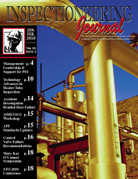 January/February 2010 Inspectioneering Journal