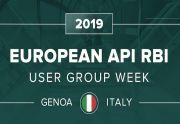 2019 European API RBI User Group Week