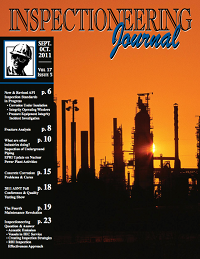 September/October 2011 Inspectioneering Journal