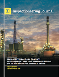 January/February 2016 Inspectioneering Journal
