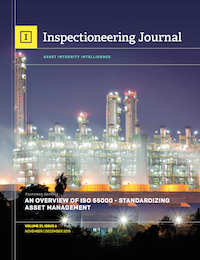 November/December 2015 Inspectioneering Journal
