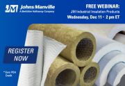 Webinar: JM Industrial Insulation Products