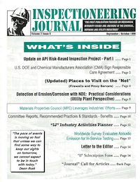 September/October 1996 Inspectioneering Journal