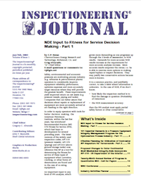 January/February 2002 Inspectioneering Journal