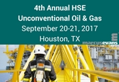 4th Annual HSE for Unconventional Oil and Gas
