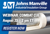 Webinar – Combat CUI: How to Combine Insulation & Jacketing to Inhibit Corrosion
