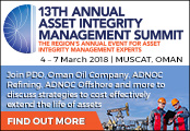 13th Annual Asset Integrity Management Summit
