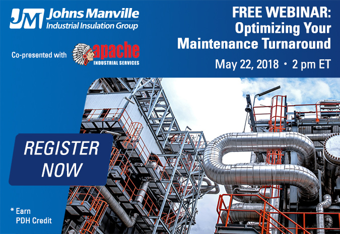 Webinar - Preparing for Your Maintenance Turnaround