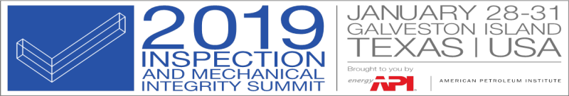 2019 Inspection and Mechanical Integrity Summit