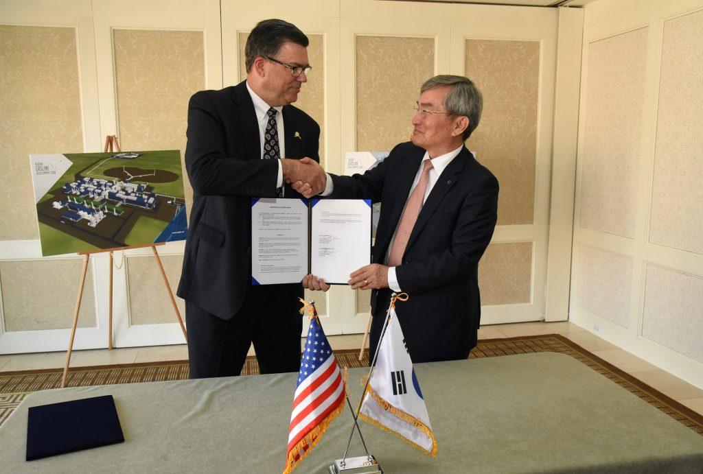 Alaska Gasline Development Corporation President and Korea Gas Corporation President and CEO