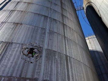UAV Inspection of Above Ground Storage Tanks