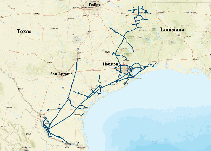 KM%20Tejas%20Pipeline%20System Map Of Mississippi Coast on