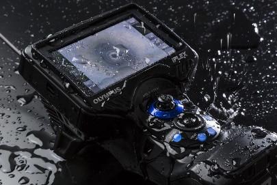 Rugged Frame IPLEX® G Lite Ultra-Portable Industrial Videoscope