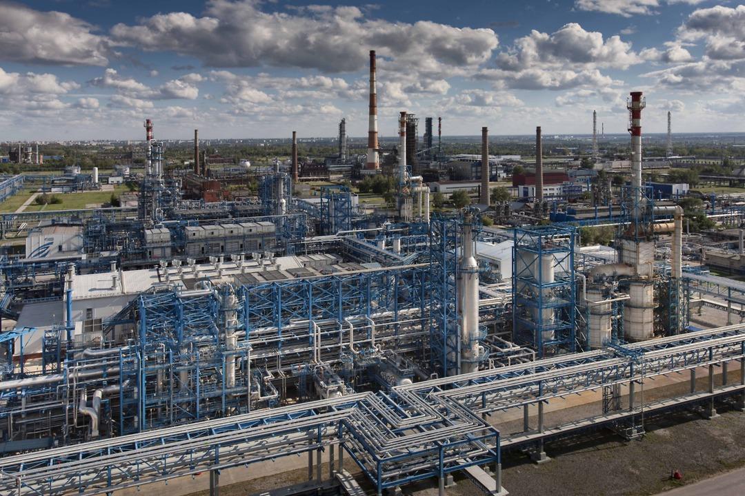 Gazprom's Omsk Oil Refinery