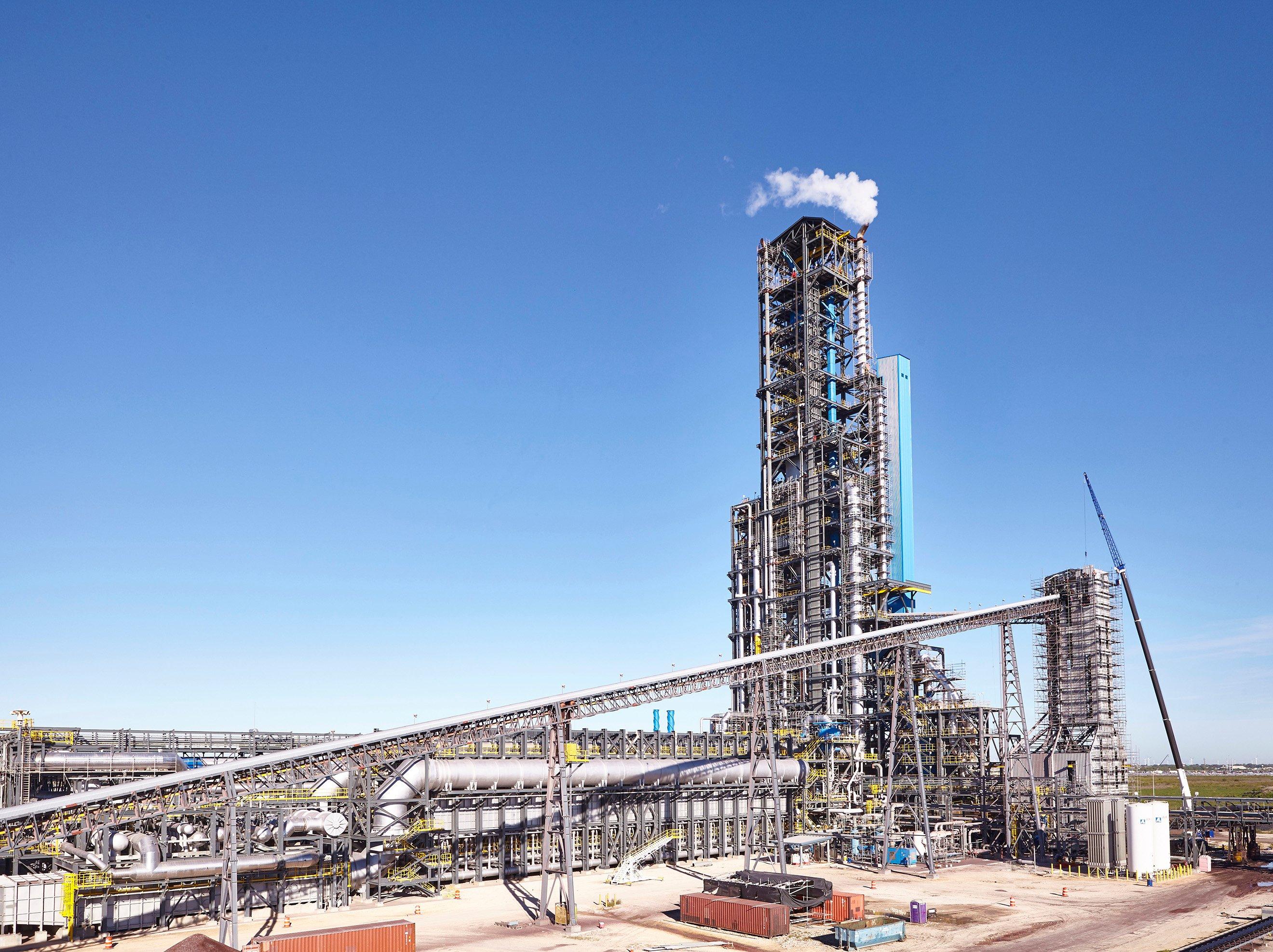 World 180 S Largest Hbi Plant Begins Operations Near Corpus