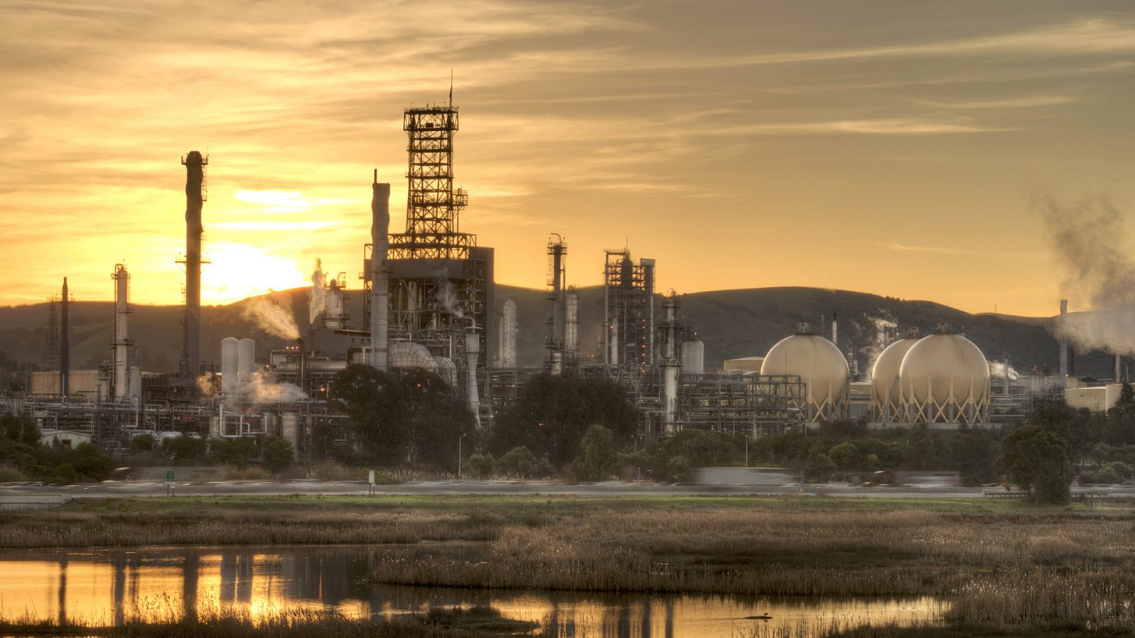 Shell California Refinery