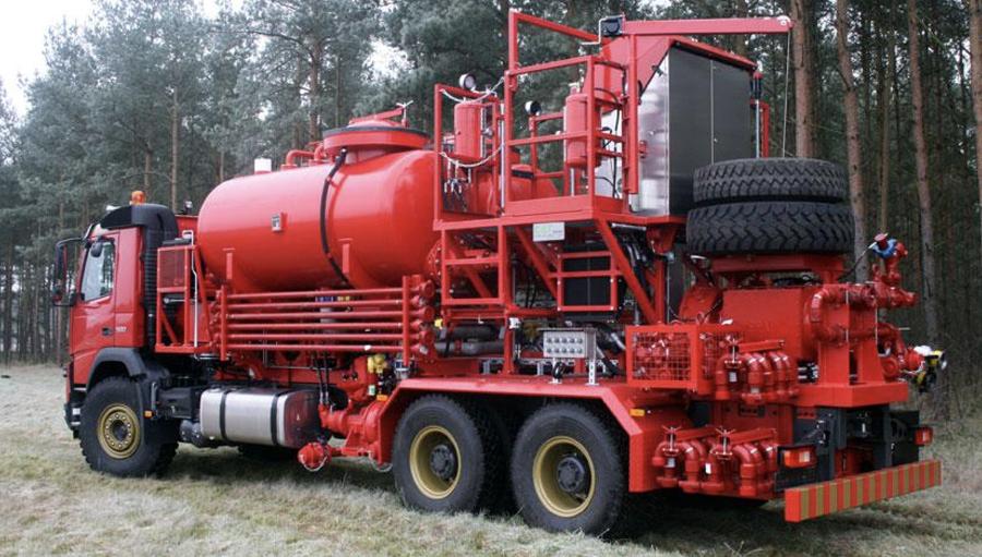 Figure 1. Acid pumping unit (Image courtesy: GOES GmbH)