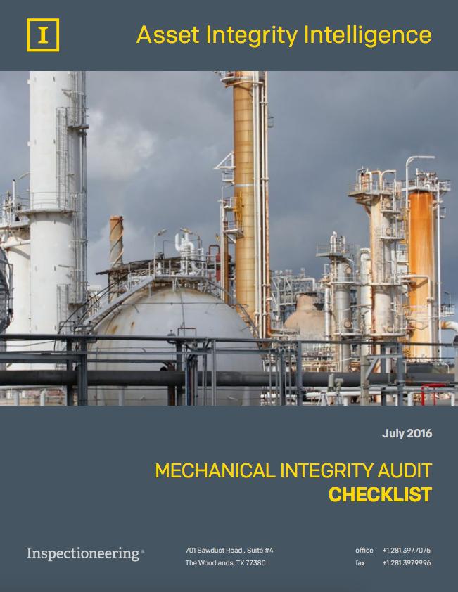Mechanical Integrity Program Audits | Inspectioneering