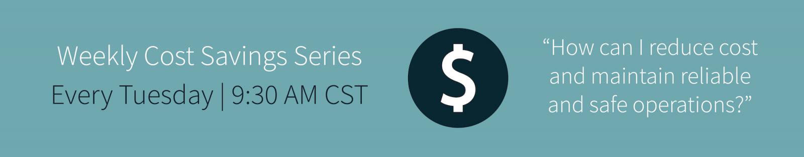 PinnacleART Weekly Cost Savings Series