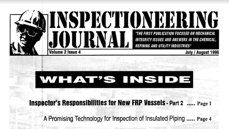 Inspector's Responsibilities for New FRP Vessels: Part 2