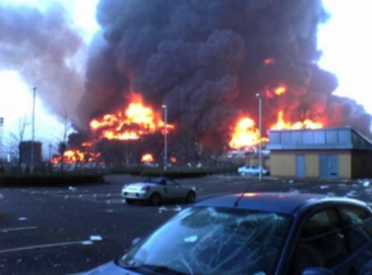 Experts Puzzled Over the UK's Largest Storage Tank Terminal Fire