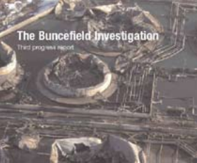 The Buncefield Investigation's Third Progress Report